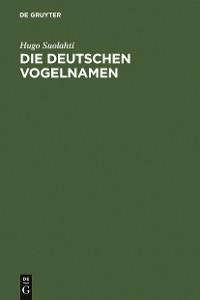 Cover Die deutschen Vogelnamen