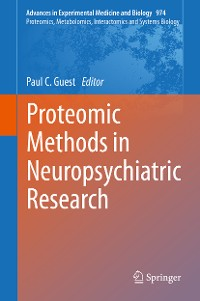 Cover Proteomic Methods in Neuropsychiatric Research
