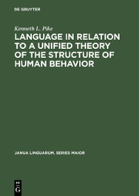 Cover Language in Relation to a Unified Theory of the Structure of Human Behavior
