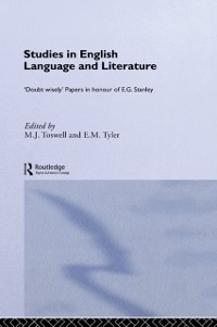 Cover Studies in English Language and Literature
