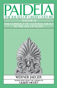 Cover Paideia: The Ideals of Greek Culture