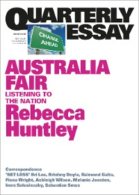 Cover Quarterly Essay 73 Australia Fair
