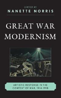 Cover Great War Modernism