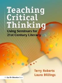Cover Teaching Critical Thinking