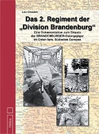 """Cover Das 2. Regiment der """"Division Brandenburg"""""""