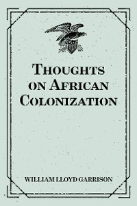 Cover Thoughts on African Colonization