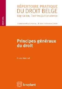 Cover Principes généraux du droit
