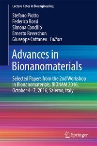 Cover Advances in Bionanomaterials