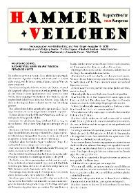 Cover Hammer + Veilchen Nr. 18