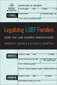 Cover Legalizing LGBT Families