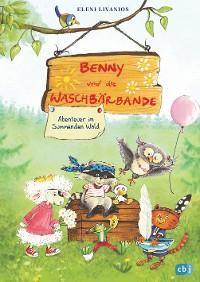 Cover Benny und die Waschbärbande - Abenteuer im Summenden Wald