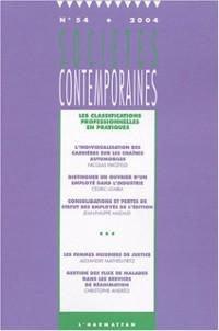 Cover Societe contemporaine no. 54