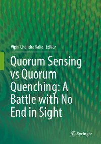 Cover Quorum Sensing vs Quorum Quenching: A Battle with No End in Sight