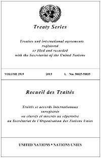 Cover Treaty Series 2919/Recueil des Traités 2919