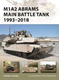 Cover M1A2 Abrams Main Battle Tank 1993 2018