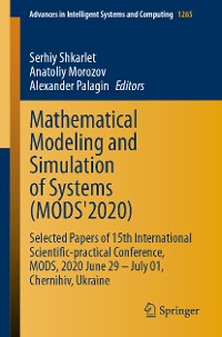 Cover Mathematical Modeling and Simulation of Systems (MODS'2020)