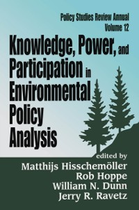 Cover Knowledge, Power, and Participation in Environmental Policy Analysis