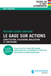 Cover Le gage sur actions