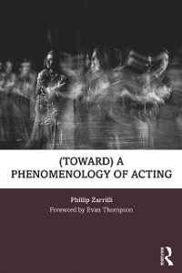 Cover (toward) a phenomenology of acting