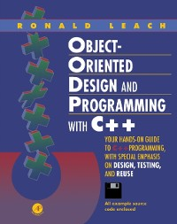 Cover Object-Oriented Design and Programming with C++