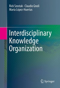 Cover Interdisciplinary Knowledge Organization