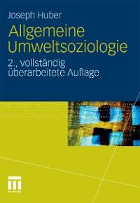 Cover Allgemeine Umweltsoziologie