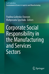 Cover Corporate Social Responsibility in the Manufacturing and Services Sectors