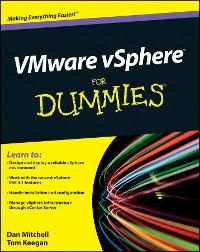 Cover VMware vSphere For Dummies