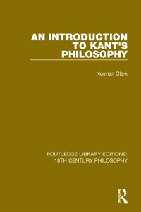 Cover Introduction to Kant's Philosophy