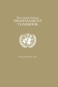 Cover United Nations Disarmament Yearbook 2018: Part II