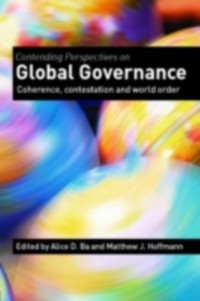 Cover Contending Perspectives on Global Governance