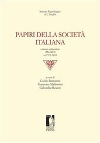 Cover Papiri della Società Italiana