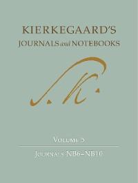 Cover Kierkegaard's Journals and Notebooks, Volume 5