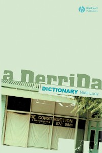 Cover A Derrida Dictionary