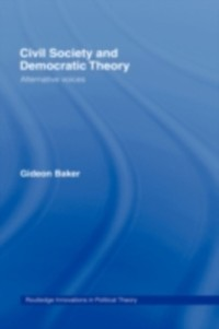 Cover Civil Society and Democratic Theory