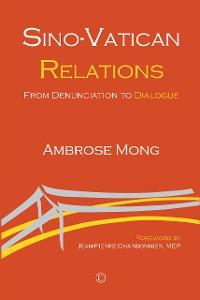 Cover Sino-Vatican Relations