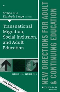 Cover Transnational Migration, Social Inclusion, and Adult Education
