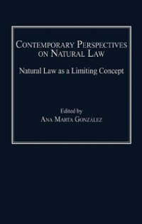 Cover Contemporary Perspectives on Natural Law