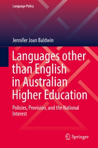 Cover Languages other than English in Australian Higher Education