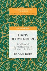 Cover Hans Blumenberg