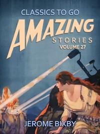 Cover Amazing Stories Volume 27