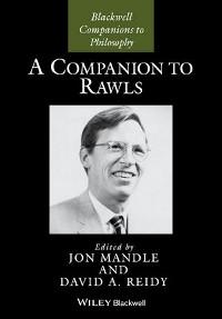 Cover A Companion to Rawls