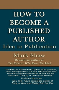 Cover How to Become a Published Author