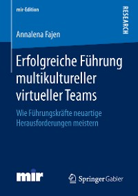 Cover Erfolgreiche Führung multikultureller virtueller Teams