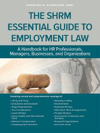 Cover The SHRM Essential Guide to Employment Law