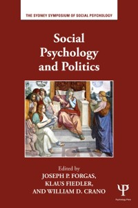 Cover Social Psychology and Politics