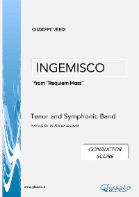 Cover Ingemisco - Tenor and Symphonic Band (conductor score)
