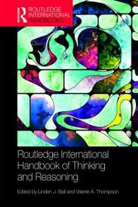 Cover International Handbook of Thinking and Reasoning