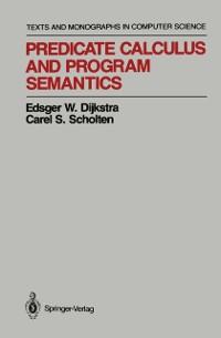Cover Predicate Calculus and Program Semantics