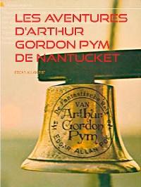 Cover Les aventures D'arthur Gordon Pym de Nantucket
